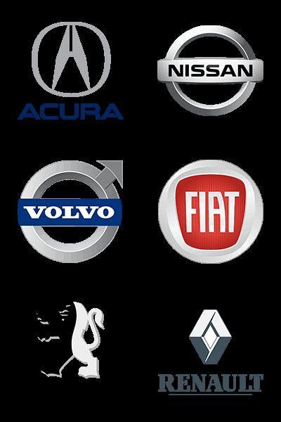 logo-acura-nissan-volvo-fiat-peugeot-renault-blindaje-blindado